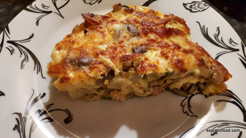 Omelette in the oven