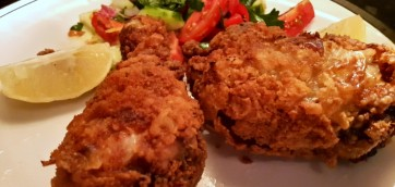 Spicy crunchy fried chicken