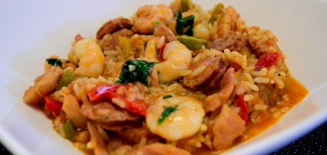 Southern Jambalaya with Chicken and Sausages