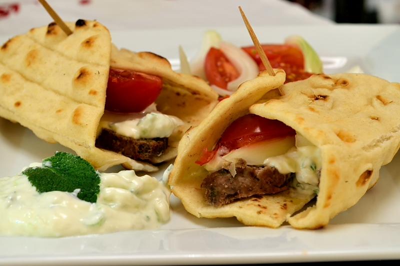 Homemade Lamb Gyros (Doner Kebab)