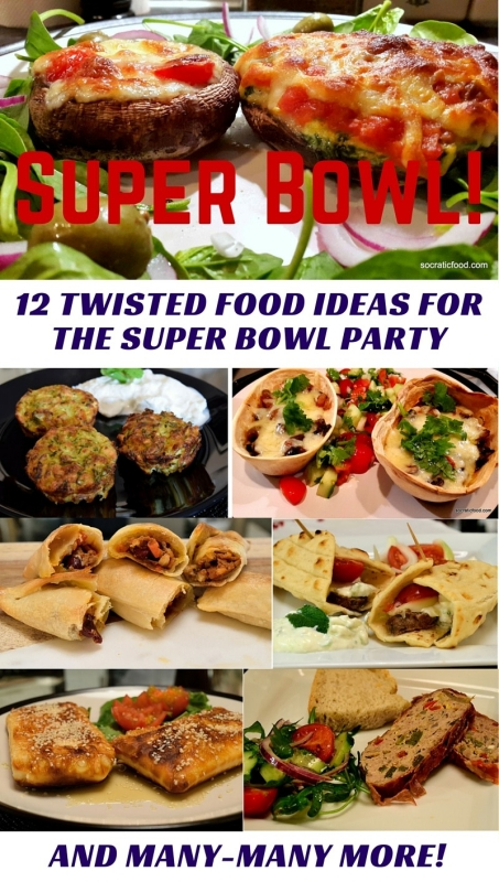 12 Twisted Food Ideas for the Super Bowl Party