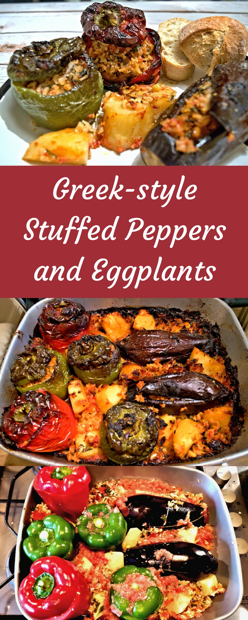 Greek-Style Stuffed Peppers and Eggplants (Gemista) - SocraticFood