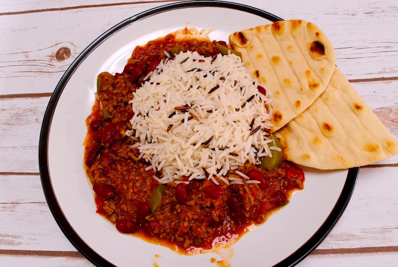 Chili Con Carne with Wild Rice