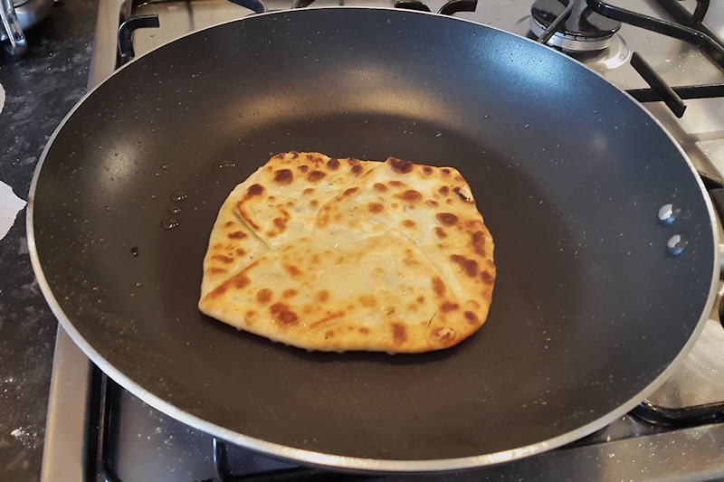Spinach and Fennel Pancakes (Marathopita)
