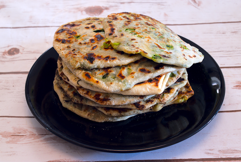 Spinach and Fennel Pancakes (Marathopita)