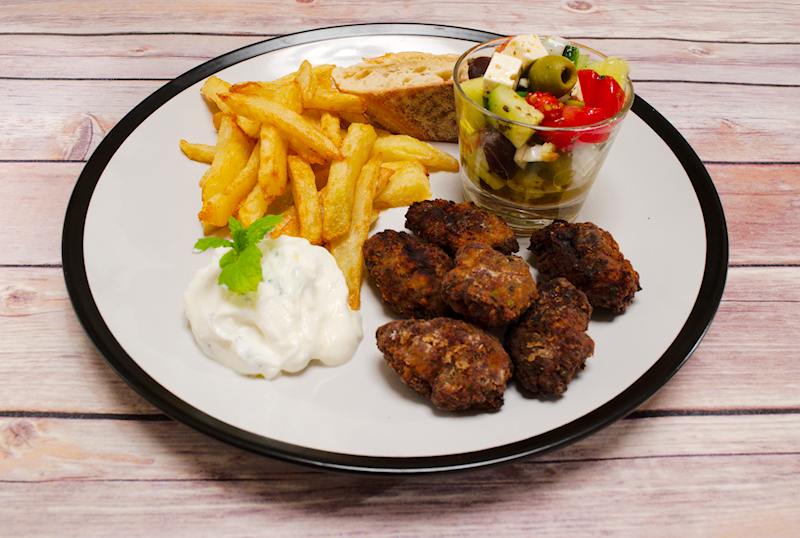 The Perfect Meatballs (Greek Keftedes)