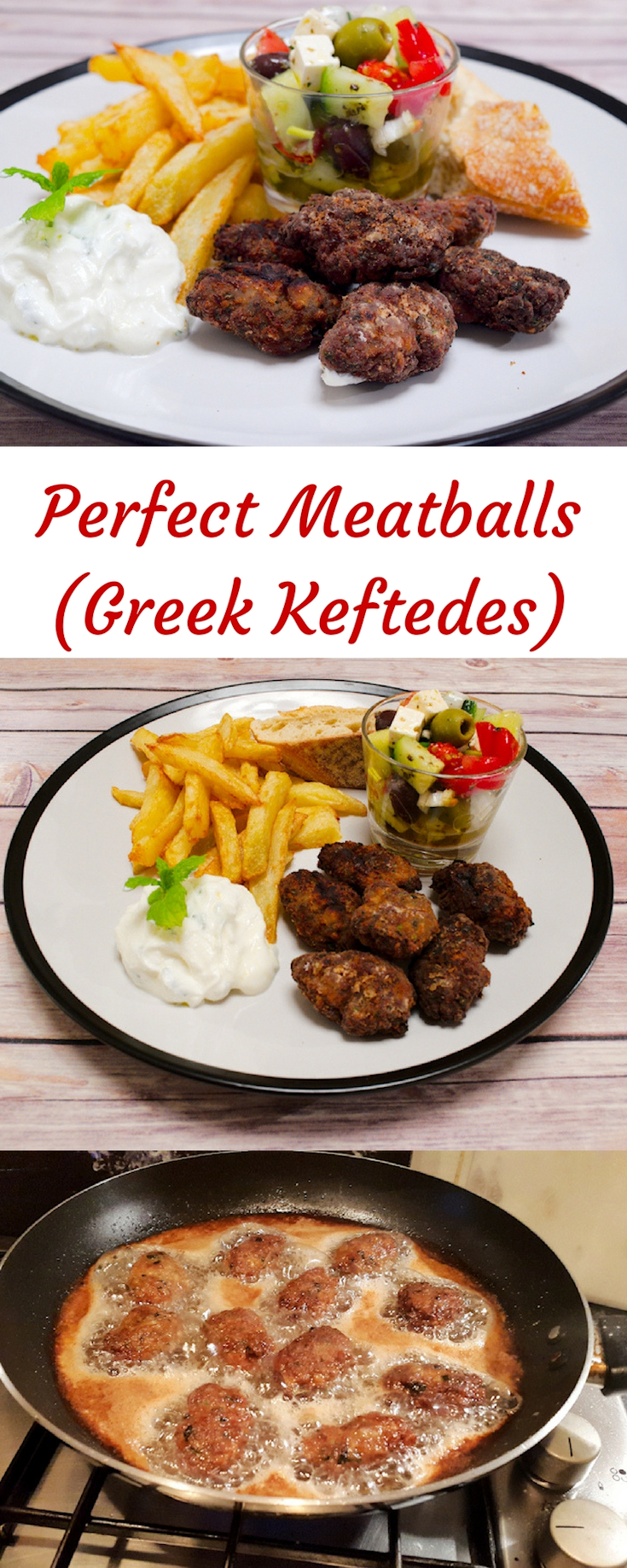 The Perfect Meatballs (Keftedes)