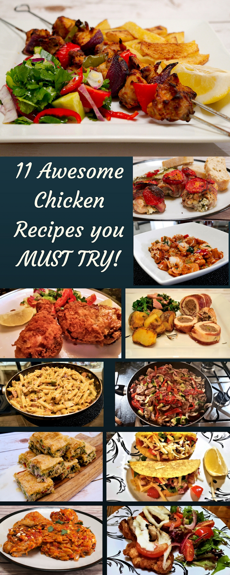 11 Awesome Men S Casual Street Style Fashion: 11 Awesome Chicken Recipes You Must Try