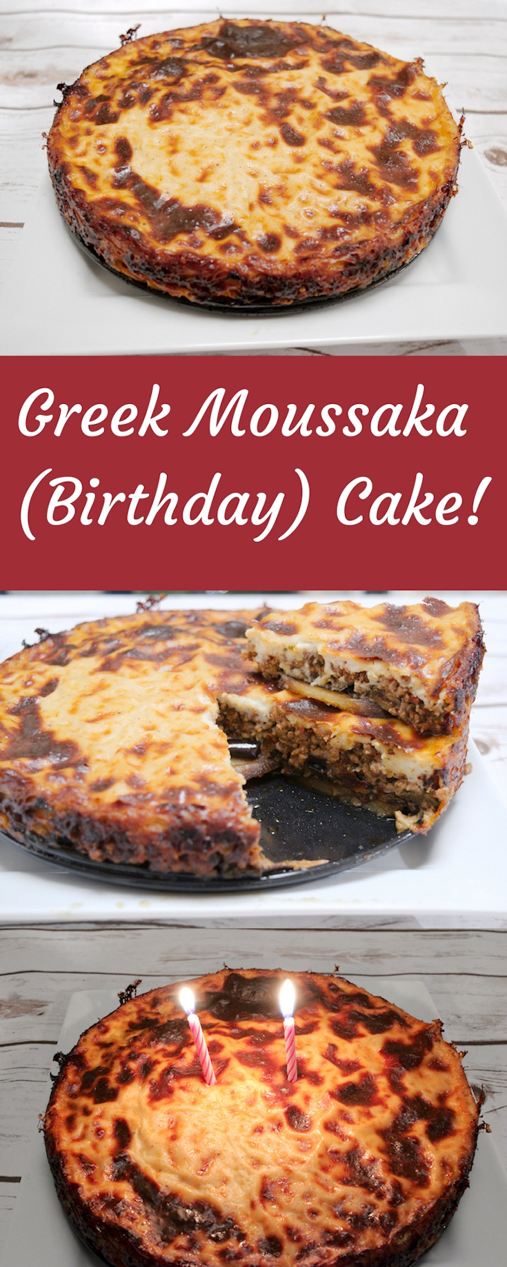 Perfect Greek Moussaka Cake