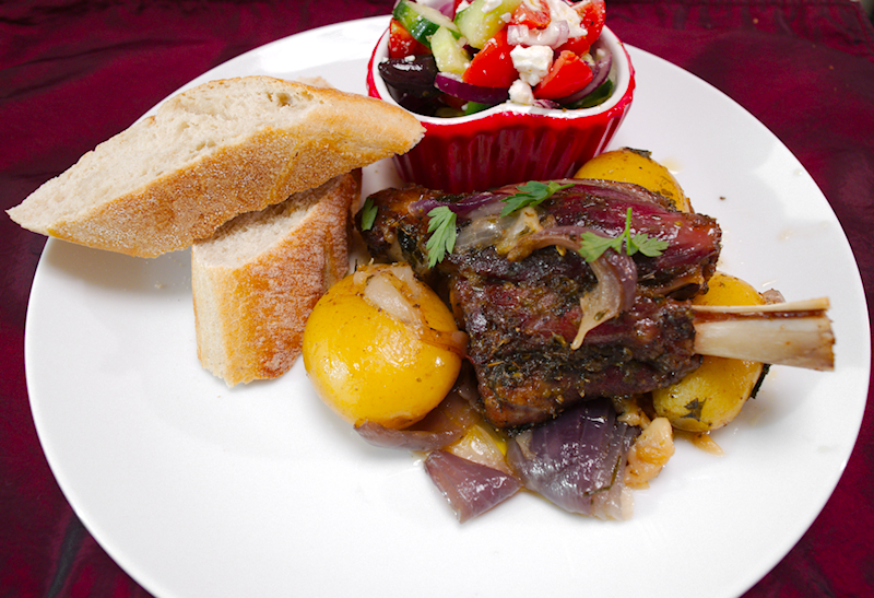 Greek Roasted Lamb (Kleftiko)