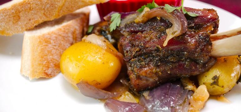 Greek Roasted Lamb with Potatoes (Kleftiko)