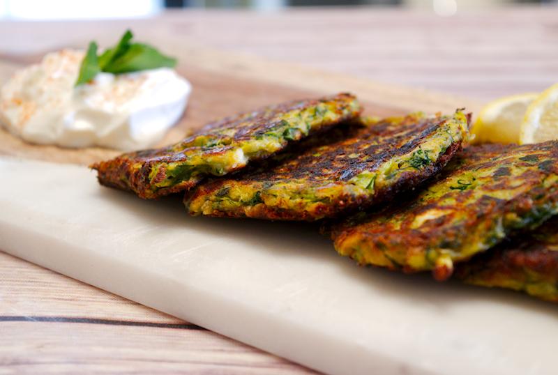 Easy Greek Zucchini Fritters (Kolokithokeftedes)