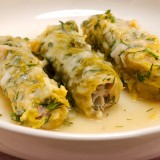 Greek Stuffed Cabbage Rolls (Lahanodolmades)