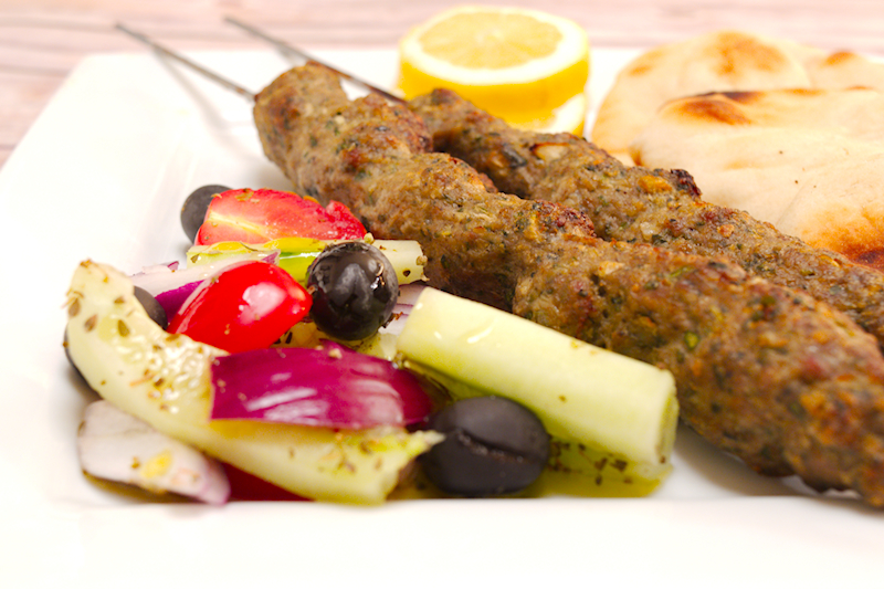 Lamb Kofta Kabobs (Kebabs) in the Oven