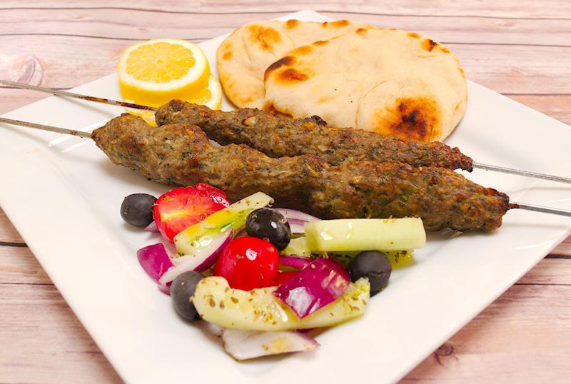 Lamb Kofta Kabobs (Kebabs) in the Oven