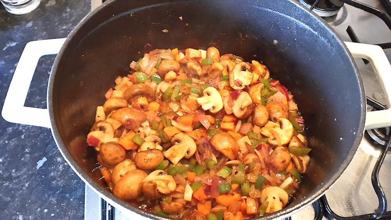 Italian Chicken Cacciatore Stew
