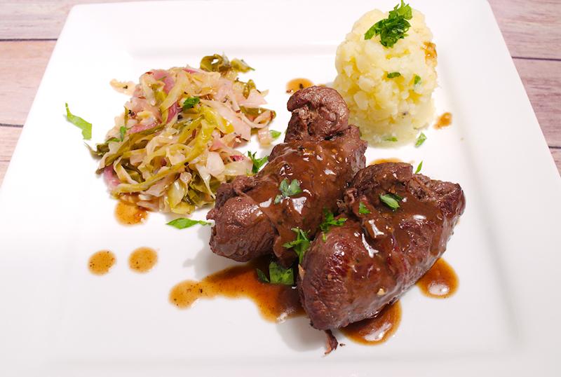German Beef Rouladen Stew