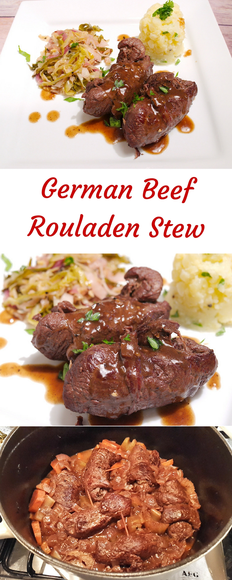 German Beef Rouladen Stew
