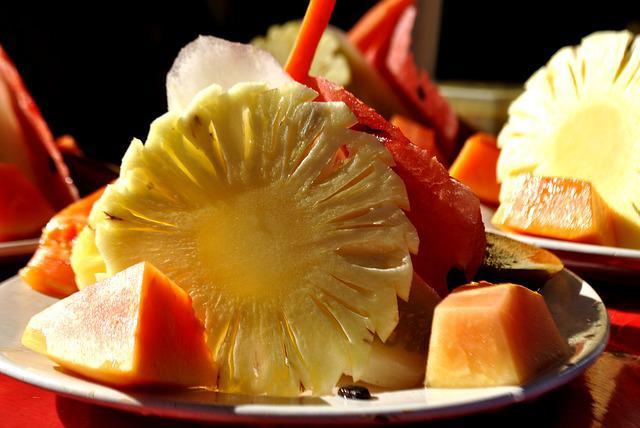 Pineapple parfait